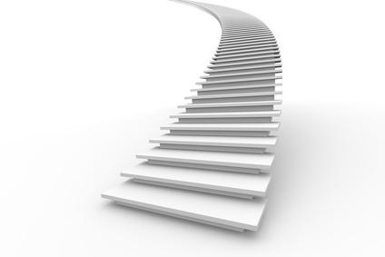 Escaleras infinitas