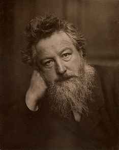 William Morris (1834-1896), fundador del movimiento Arts and Crafts
