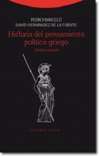 Historia del pensamiento político griego