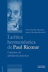 portada de Paul Ricoeur_La_etica_hermeneutica